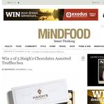 Win 1 of 5 Haigh's Chocolates Assorted Truffles box!