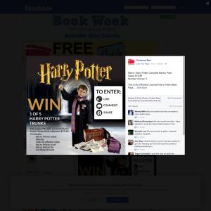 Win 1 of 5 'Harry Potter' trunks!