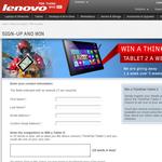 Win 1 of 5 Lenovo Thinkpad Tablet 2s!