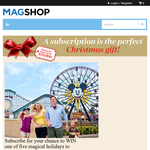 Win 1 of 5 magical holidays to Disneyland Resort in California!
