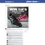 Win 1 of 5 pairs of Asics Gel-Kayano 22 Sneakers!