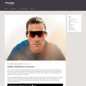 Win 1 of 5 Pairs of Oakley RadarPace PRIZM Road Sunglasses