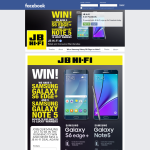 Win 1 of 5 Samsung Galaxy Note 5 or 1 of 5 Samsung Galaxy S6 edge+ smartphones!