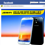 Win 1 of 5 Samsung Galaxy S 4 smartphones!