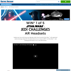 Win 1 of 5 Star Wars: Jedi Challenges AR Headsets
