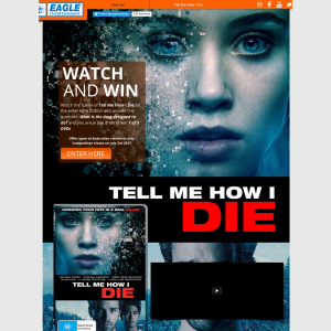 Win 1 of 5 Tell Me How I Die dvds