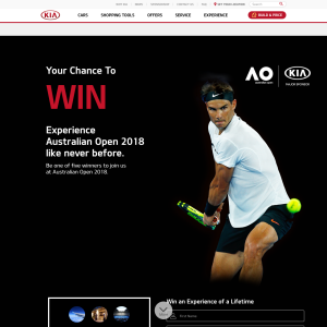 Win 1 of 5 VIP Experiences at the 2018 Australian Open