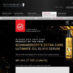 Win 1 of 500 Schwarzkopf 'Ultimate Oil Elixir' hair serums!