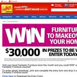 Win 1 Of 6 $5,000 U0027Fantastic Furnitureu0027 Vouchers!