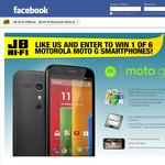 Win 1 of 6 Motorola Moto G smartphones!