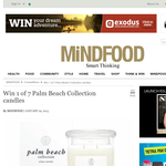 Win 1 of 7 Palm Beach Collection candles!