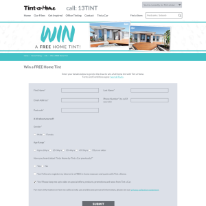 Win 1 of 8 Home Window Tint Installations