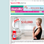 Win $10,000 for a new bathroom!