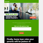 Win $10,000 towards your dream property!