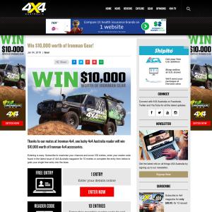 Win $10,000 Worth of Ironman Gear