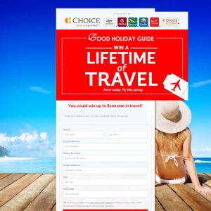Win 100K in Travel Money with Choice Hotels