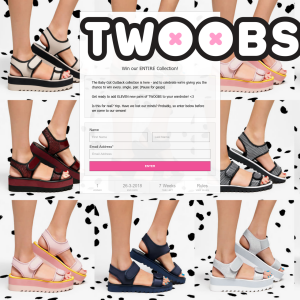 Win 11 pairs of shoes from Twoobs