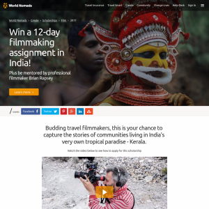 Win 12-day filmmaking assignment in India