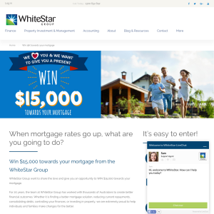 Win $15K towards your mortgage!