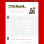 Win $2,000 Cash