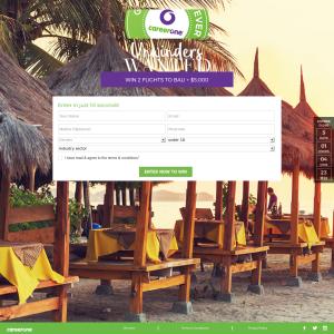 Win 2 flights to Bali + $5,000 cash!