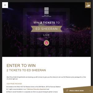 Win 2 tickets to Ed Sheeran