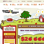 Win $20,000 to improve your staffroom