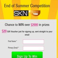 Win $2000 in Beauty Products