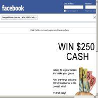 Win $250 Cash!
