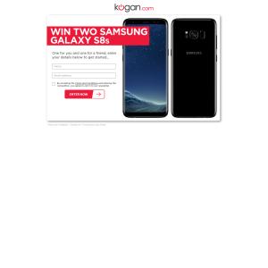Win 2x Samsung Galaxy S8 smartphones!
