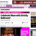 Win 4 tickets to a matinee performance of Strickly Ballroom, overnight accommodation in Melbourne, afternoon tea prior to the show and a cast meet and greet with Heather Mitchell