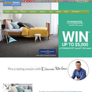 Win $5,000 Carpet Giveaway Plus Styling Session With Darren Palmer