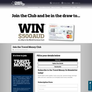 Win $500AUD!