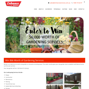 Win $6,000 worth of gardening services!