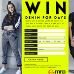 Win 6 months worth of denim
