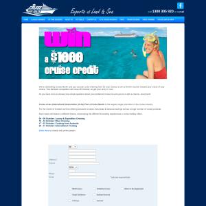 Win a $1,000 cruise credit!