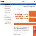 Win a $1,000 IKEA gift card!