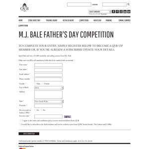Win a $1,000 wardrobe & styling session from M.J. Bale!