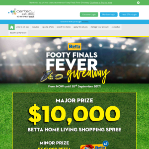 Win a $10,000 Betta Home Living Shopping Spree or 1 of 5 $1,000 Betta Home Living Vouchers
