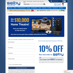 Win a $10,000 home theatre system!