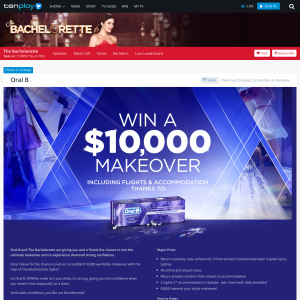 Win a $10,000 makeover, including flights & accommodation!