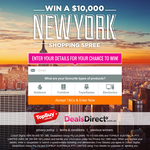 Win a $10,000 New York Shopping Spree