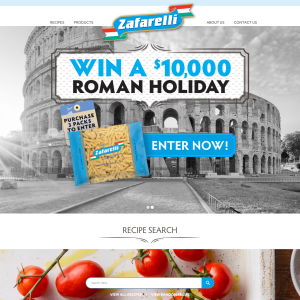 Win a $10,000 Roman holiday! (Purchase Required)