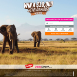 Win a $10,000 Safari Adventure