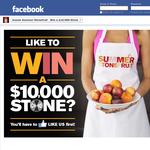 Win a $10,000 stone!
