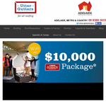 Win a $10,000 voucher to put towards any Stratco Outback carport!