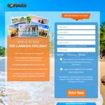 Win a 10 day Sri Lanka Holiday