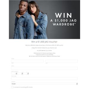 Win a $1000 voucher