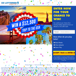 Win a $12,500 Trip to the USA