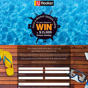 Win a $15,000 dream holiday + a $1,000 Flight Centre gift card to be won weekly!